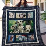 Theartsyhomes Dalmatian Thqd50001 3D Personalized Customized Quilt Blanket ESR1