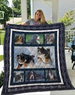 Theartsyhomes Bernese Mountain Dog 3 3D Personalized Customized Quilt Blanket ESR4