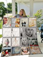Theartsyhomes Christina Aguilera 3D Personalized Customized Quilt Blanket ESR41