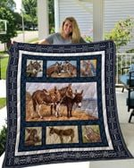 Theartsyhomes DONKEY 2 3D Personalized Customized Quilt Blanket ESR39