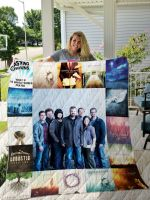 Theartsyhomes Casting Crowns 3D Personalized Customized Quilt Blanket ESR9