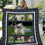 Theartsyhomes Dogo Argentino Qui67001 3D Personalized Customized Quilt Blanket ESR7