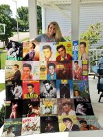Theartsyhomes Elvis Presley 3D Personalized Customized Quilt Blanket ESR39