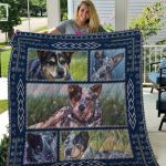 Theartsyhomes Blue Heelers Qui60001 3D Personalized Customized Quilt Blanket ESR34