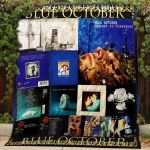 Theartsyhomes Blue October #Bjan-1 3D Personalized Customized Quilt Blanket ESR42