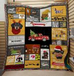 Theartsyhomes Dachshund strong 3D Personalized Customized Quilt Blanket ESR32