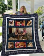 Theartsyhomes Boxer 4 3D Personalized Customized Quilt Blanket ESR50