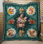 Theartsyhomes Dream corgi 3D Personalized Customized Quilt Blanket ESR32