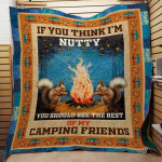Theartsyhomes Camping F1501 82o39 3D Personalized Customized Quilt Blanket ESR44