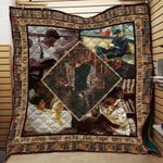 Theartsyhomes Book D1206 83o38 3D Personalized Customized Quilt Blanket ESR41