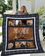 Theartsyhomes Cat 3D Personalized Customized Quilt Blanket ESR6