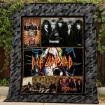 Theartsyhomes Def Leppard #Bjan-2 3D Personalized Customized Quilt Blanket ESR48