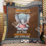 Theartsyhomes Elephant M1102 82o31 3D Personalized Customized Quilt Blanket ESR23