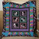 Theartsyhomes Cats Heavenly 3D Personalized Customized Quilt Blanket ESR31