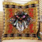 Theartsyhomes Bohemian Mh20 3D Personalized Customized Quilt Blanket ESR38