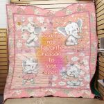 Theartsyhomes Elephant F2502 84o35 3D Personalized Customized Quilt Blanket ESR1