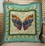 Theartsyhomes Butterfly Queen 3D Personalized Customized Quilt Blanket ESR10