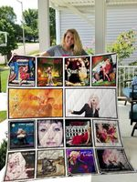 Theartsyhomes Cyndi Lauper 3D Personalized Customized Quilt Blanket ESR11