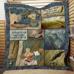Theartsyhomes Book D0706 83o06 3D Personalized Customized Quilt Blanket ESR31