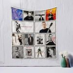 Theartsyhomes Bryan Adams Two 3D Personalized Customized Quilt Blanket ESR44