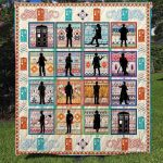 Theartsyhomes Doctor Who Collection 3D Personalized Customized Quilt Blanket ESR36