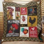 Theartsyhomes Chicken M2301 83o38 3D Personalized Customized Quilt Blanket ESR32