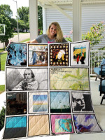 Theartsyhomes Brian Eno 3D Personalized Customized Quilt Blanket ESR4