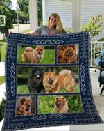 Theartsyhomes Chow Chow 3D Personalized Customized Quilt Blanket ESR24