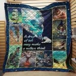 Theartsyhomes Book Writer Milion Think 3D Personalized Customized Quilt Blanket ESR37