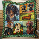 Theartsyhomes Dog Printing Dml-Qhg00018 3D Personalized Customized Quilt Blanket ESR41