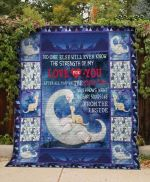 Theartsyhomes Dinosaur: Love For You 3D Personalized Customized Quilt Blanket ESR6