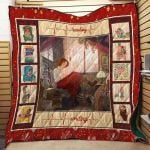 Theartsyhomes Book N2801 83o05 3D Personalized Customized Quilt Blanket ESR50