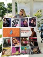Theartsyhomes Fantasia Barrino 3D Personalized Customized Quilt Blanket ESR26