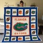 Theartsyhomes Florida Gators Fgt02 3D Personalized Customized Quilt Blanket ESR43