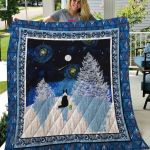 Theartsyhomes Border Collie Phqd17002 3D Personalized Customized Quilt Blanket ESR35