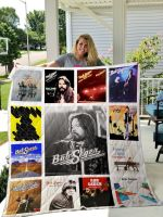 Theartsyhomes Bob Seger 3D Personalized Customized Quilt Blanket ESR24