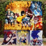 Theartsyhomes Fairy tail 3D Personalized Customized Quilt Blanket ESR49