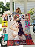 Theartsyhomes Becky-G 3D Personalized Customized Quilt Blanket ESR18