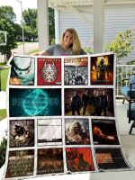 Theartsyhomes Disturbed 3D Personalized Customized Quilt Blanket ESR2