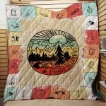 Theartsyhomes Camping 3D Personalized Customized Quilt Blanket ESR34