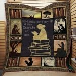 Theartsyhomes Book J1405 84o41 3D Personalized Customized Quilt Blanket ESR17