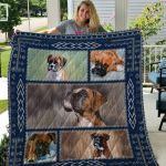 Theartsyhomes Boxer Qui7005 3D Personalized Customized Quilt Blanket ESR14