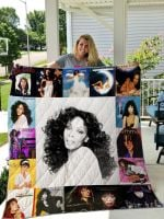 Theartsyhomes Donna Summer 3D Personalized Customized Quilt Blanket ESR1
