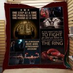 Theartsyhomes Be Stronger Than Your Strongest Excuse 3D Personalized Customized Quilt Blanket ESR27