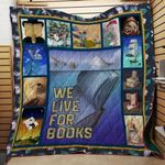 Theartsyhomes Book D0605 84o41 3D Personalized Customized Quilt Blanket ESR49