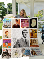 Theartsyhomes Buddy Holly 3D Personalized Customized Quilt Blanket ESR3