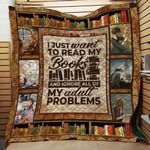 Theartsyhomes Book D1309 83o34 3D Personalized Customized Quilt Blanket ESR38