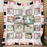 Theartsyhomes Cat Nvh-Qdt0025 3D Personalized Customized Quilt Blanket ESR8