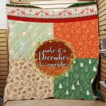 Theartsyhomes Christmas 3D Personalized Customized Quilt Blanket ESR48