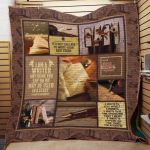Theartsyhomes Book D0606 83o07 3D Personalized Customized Quilt Blanket ESR1